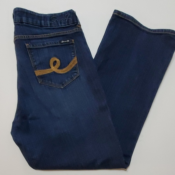 Seven7 Denim - Seven7 Boot Cut Jeans - Like New!  Size 16
